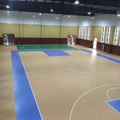 篮球场pvc运动场地