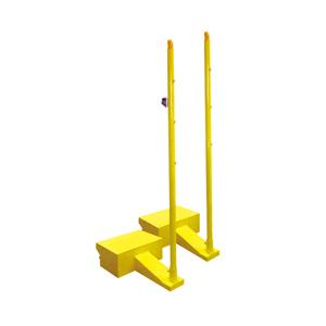 箱式移动羽毛球柱